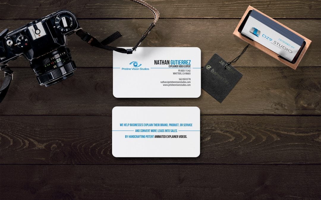 Nathan Gutierrez | Business Card Design