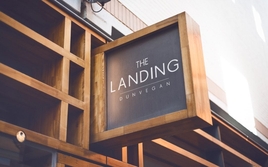 The Landing | Logo Design