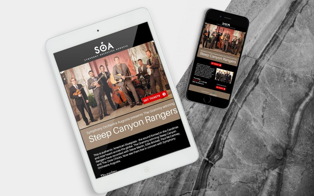 Symphony orchestra | Email Design